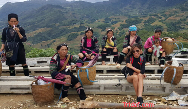 H'Mong people in Sapa - Vietnam